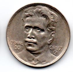 1938 - 400 Réis - Oswaldo Cruz - Moeda Brasil - Estado de Conservação - Soberba/Flor (Sob/fc)