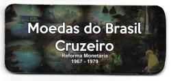 Cartela Vazia - para Moedas do Cruzeiro - 1967 - 1979 - VAZIA