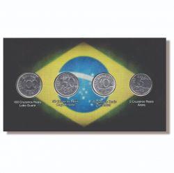 Cartela Vazia - para Moedas do Cruzeiros Reais - 1993 - 1994 - VAZIA