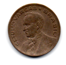 1942 - 20 Centavos - Níquel Rosa - Moeda Brasil - Estado de Conservação: Muito Bem Conservada (MBC)