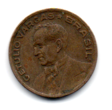 1942 - 20 Centavos - Níquel Rosa - Moeda Brasil - Estado de Conservação: Bem Conservada (BC)