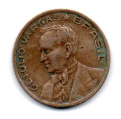 1942 - 50 Centavos - Níquel Rosa - Moeda Brasil - Estado de Conservação: Bem Conservada (BC)