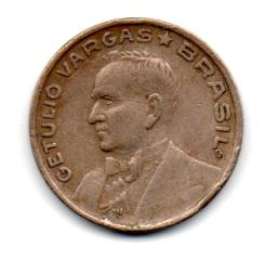 1943 - 50 Centavos - Níquel Rosa - Moeda Brasil - Estado de Conservação: Muito Bem Conservada (MBC)