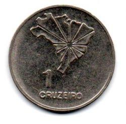 1972 - 1 Cruzeiro - Comemorativa Sesquicentenário da Independência - Moeda Brasil - Estado de Conservação: Muito Bem Conservada (MBC)