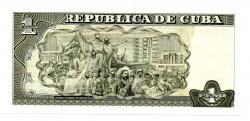 Cuba - 1 Peso - Flor de Estampa