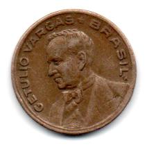 1943 - 20 Centavos  - Níquel Rosa - Moeda Brasil - Estado de Conservação: Muito Bem Conservada (MBC)