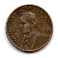 1942 - 10 Centavos - Níquel Rosa - Moeda Brasil - Estado de Conservação: Bem Conservada (BC)