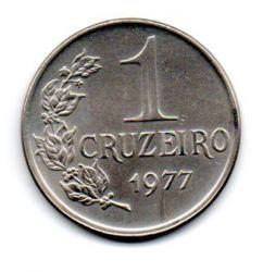 1977 - 1 Cruzeiro - Moeda Brasil