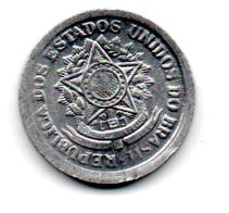 1956 - 10 Centavos - Moeda Brasil - Estado de Conservação: Soberba/Flor (Sob/FC)