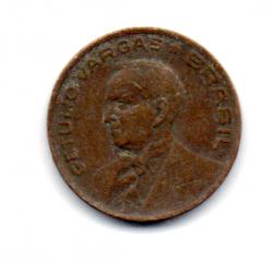 1943 - 10 Centavos - Níquel Rosa - Moeda Brasil - Estado de Conservação: Regular (R)