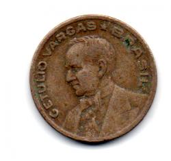 1942 - 20 Centavos - Níquel Rosa - Moeda Brasil - Estado de Conservação: Regular (R)