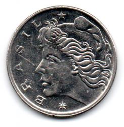 1967 - 50 Centavos - Moeda Brasil - Estado de Conservação: Soberba (Sob)