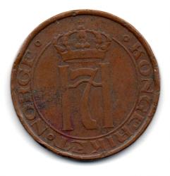 Noruega - 1932 - 5 Ore - 27mm