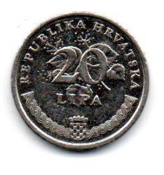 Croácia - 2003 - 20 Lipa - 18,5mm - Sob