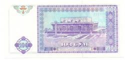 Uzbequistão - 1994 - 100 S'om - Cédula Estrangeira - Flor de Estampa