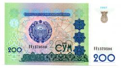 Uzbequistão - 200 S