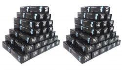 Atacado! 100 Caixas De Coin Holder - APENAS R$ 6,20 por caixa!!! Coin Holder de Grampear Marca Organizer - Obs.: Cada tem 50 coin holders.