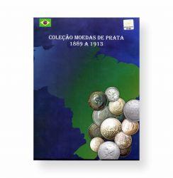 Álbum Moedas De Prata Brasil República 1889 - 1913 Vazio