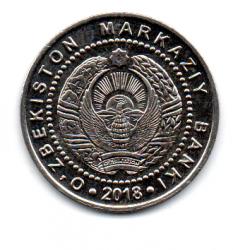 Uzbequistão - 2018 - 500 Som - Sob/Fc