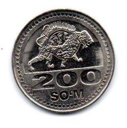 Uzbequistão - 2018 - 200 Som - Sob/Fc
