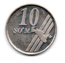 Uzbequistão - 2001 - 10 Som - Sob