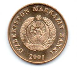 Uzbequistão - 2001 - 5 Som - Sob