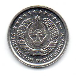 Uzbequistão - 1994 - 10 Tiyin - Sob