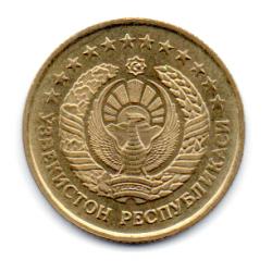 Uzbequistão - 1994 - 5 Tiyin - Sob