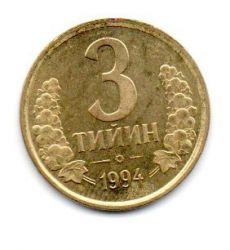 Uzbequistão - 1994 - 3 Tiyin - Sob