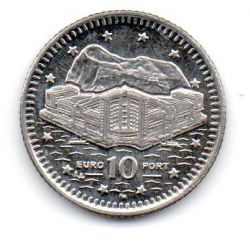 Gibraltar - 2003 - 10 Pence - Sob/Fc