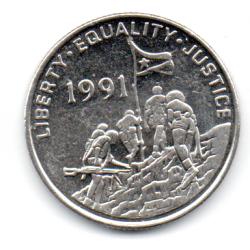 Eritreia - 1997 - 100 Cents - Sob/Fc