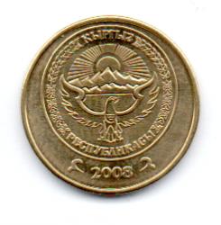 Quirquistão - 2008 - 50 Tyiyn - Sob/Fc