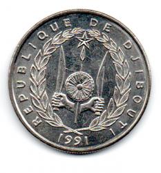 Djibouti - 1991 - 50 Francs - Sob/Fc