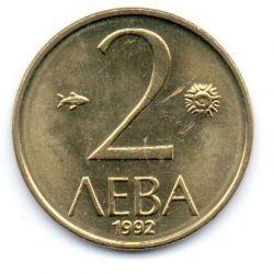 Bulgária - 1992 - 2 Leva - Sob/Fc