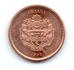 Guiana - 1996 -1 Dollar - Sob/Fc
