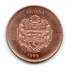 Guiana - 1996 - 5 Dollars - Sob/Fc