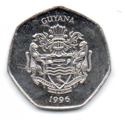 Guiana - 1996 - 10 Dollars - Sob/Fc