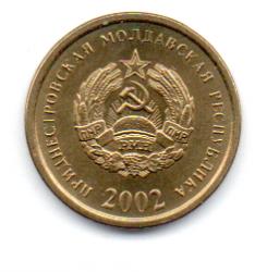 Transnístria - 2002 - 25 Kopecks - Sob/Fc
