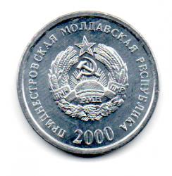Transnístria - 2000 - 10 Kopecks - Sob/Fc