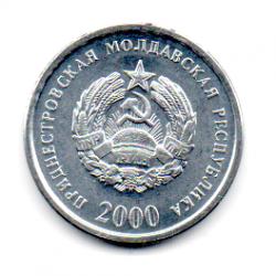 Transnístria - 2000 - 5 Kopecks - Sob/Fc