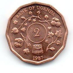 Uganda - 1987 - 2 Shillings - Sob/Fc