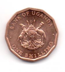 Uganda - 1987 - 1 Shilling - Sob/Fc
