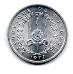Djibouti - 1977 - 1 Franc - Sob/Fc