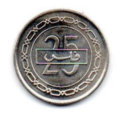 Bahrain - 2002 - 25 Fils - Sob/Fc