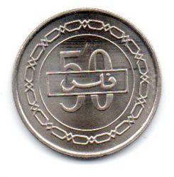 Bahrain - 2002 - 50 Fils - Sob/Fc