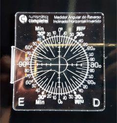 Medidor Angular Moedas Para Reverso Invertido Horizontal Etc