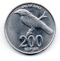 Indonésia - 2003 - 200 Rupiah - Sob/Fc