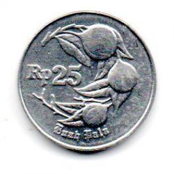 Indonésia - 1995 - 25 Rupiah - Sob/Fc