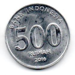 Indonésia - 2016 - 500 Rupiah - Sob/Fc