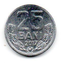 Moldávia - 2017 - 25 Bani - Mbc